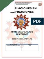 APARATOS SANITARIOS INSTA