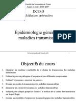 Épidémiologie générale des maladies transmissibles-ThèmeVII