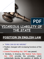 State - Vicarious liability