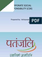 CSR Patanjali