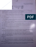 TD corriges de Electrostatique FSA 2012-2013