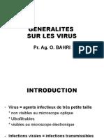 Généralités sur les virus