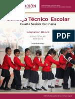 Cuarta sesión 2019-2020 CTE Educación Básica