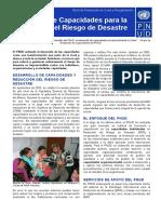 Reducción del Riesgo de Desastres - Desarrollo de Capacidades