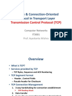 Day 21 to 24 Transmission Control Protocol (TCP)