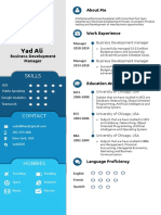 Professional Resume writing and designing in ms powerpoint 2019