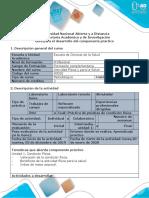 Guía para el desarrollo del componente práctico - Fase 2 - Mi condición física actual