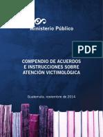 COMPENDIO DE ACUERDO E INSTRUCCIONES VICTIMOLOGICAS DCAV