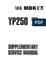 YP250 Service Manual