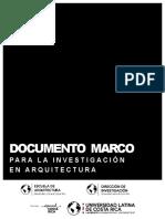 c DM Investigación en Arquitectura