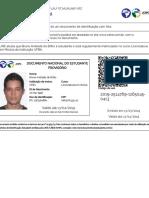 Documento do Estudante 2019 - Válido em todo o Brasil