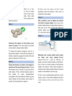 Procedure text - How to Grow a Plant - Cara menanam Tauge.docx