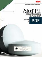 Avicel PH_ Celulosa Microcristalina FMC General