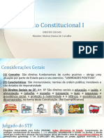 Direito Constitucional I DIREITOS SOCIAIS.pptx