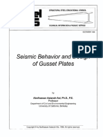 Astaneh - Steel Tips (Seismic Behavior and Design of Gusset Plates)