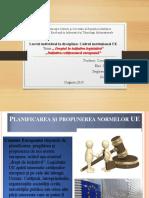 Dreptul la inițiativă legislativă. Inițiativa cetățenească europeană