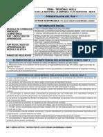 RAP 1  ACTIVIDADES, EVIDENCIAS Y CIERRE-ETICA (1)