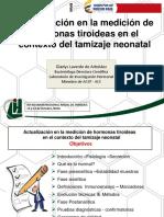 2 Medición de hormonas en tamizaje neonatal Dra. Gladys Laverde.pdf