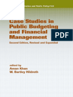 Case Studies in Public Budgeting and Financial Management