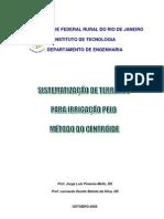 Sistematizacao de Terrenos Metodo Centroide