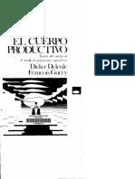 El Cuerpo Productivo - Didier Deleule