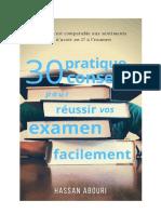 30 Conseil Pratique Pour Reussir Vos Examen Facilement (2)