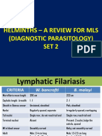 HELMINTHS – A REVIEW FOR MLS - SET 2