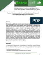 Aptidão física relacionada à saúde e ao desempenho esportivo de escolares.pdf