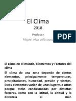 El Clima.pptx