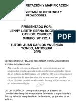 TAREA 4 - SISTEMAS DE REFERENCIA Y PROYECCIONES