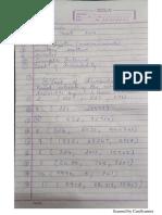 Math Revision