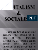 CAPITALISM and SOCIALISM
