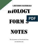 biology-form-3-notes