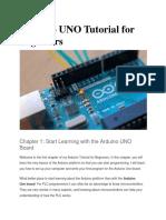Arduino UNO Tutorial for Beginners
