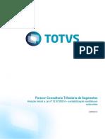 Parecer Consultoria Tributária Segmentos  - TQITSW - Adoção Inicial a Lei 12.973_2014 controle através de subcontas