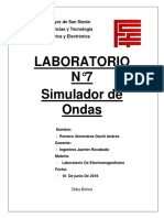 SIMULACIONES ELECTROMAGNETISMO LABORATORIO