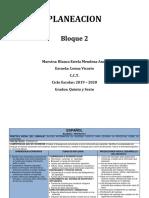 Planeacion Multigrado Tercer Ciclo Bloque 2