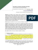 Instabilidade politica no brasil republica 1