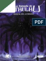La Llamada de Cthulhu (7ª Edición) - Manual Del Guardián {OCR, Marcadores, Índice Hipervinculado}