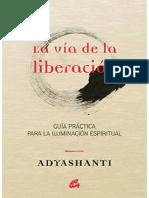 (Adyashanti) - La via de la liberacion.pdf