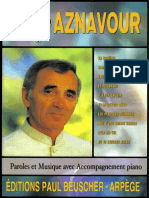 Charles Aznavour TOP 10 Chansons