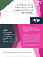 Beneficios de La Alimentacion Maternal en El Desarrollo Del Sistema Inmunitario