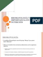 Bromatología concepto