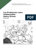 Henry Giroux - Profesores como Intelectuales