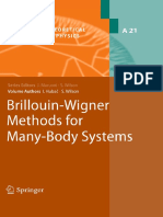 [Progress in Theoretical Chemistry and Physics 21] Ivan Hubač, Stephen Wilson (auth.) - Brillouin-Wigner Methods for Many-Body Systems (2010, Springer Netherlands) (1)