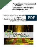 O CAMINHO DA PROSPERIDADE.pdf