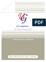 Bhanero Textile Mills Limited Annual Report 2019.pdf
