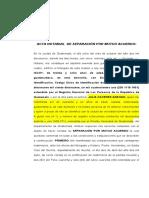 MODELO 1 SEPARACION DE CUERPO CIVIL R