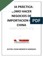 Guia de Importacion de China