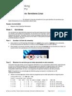 3.1.3.4 Lab - Linux Servers